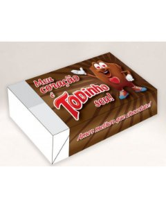 Caixa Divertida Todinho Seu Ref. 518 - 6 doces com 10 un. Erika Melkot Rizzo Confeitaria