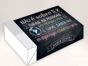 Caixa Divertida Todas as Pessoas do Mundo Ref. 491 - 6 doces com 10 un. Erika Melkot Rizzo Confeitaria