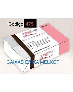 Caixa Divertida TPM Ref. 475 - 6 doces com 10 un. Erika Melkot Rizzo Confeitaria