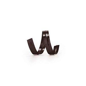 Fecho Prático Preto 11 cm com 100 un Cromus Rizzo Confeitaria