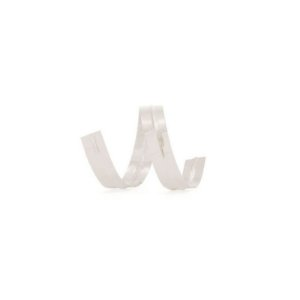 Fecho Prático Branco 11 cm com 100 un Cromus Rizzo Confeitaria