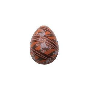 Blister Decorado com Transfer para Chocolate Ovo Coelho 50G BLP0122 Stalden Rizzo Confeitaria