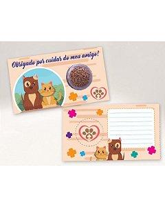 Cartão Blister Veterinário Ref. 533 com 10 un. Erika Melkot Rizzo Confeitaria