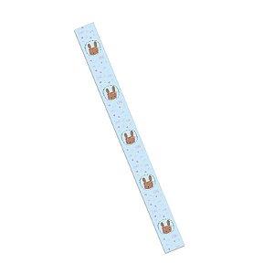 Tiras de Páscoa Coelha Marrom com 5 un. para Embalagens Rizzo Confeitaria