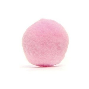 Pompom Decorativo Rosa M 30 un. Cromus Rizzo Confeitaria