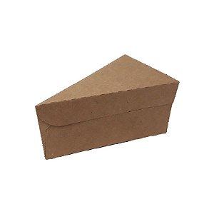 Caixa Fatia Kraft com 10 un. Rizzo Confeitaria