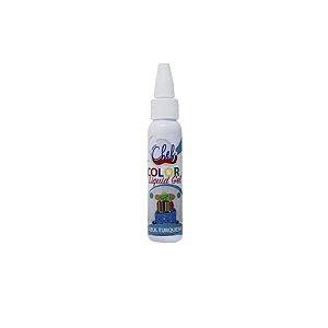 Corante Liquid Gel Azul Turquesa 25g Iceberg Rizzo Confeitaria