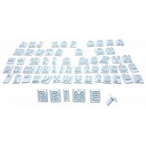 Marcador Alfabeto e Números Prime Chef Rizzo Confeitaria