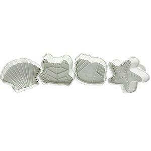 Ejetor Mar - Oceano 4 peças GMEZN103 Prime Chef Rizzo Confeitaria