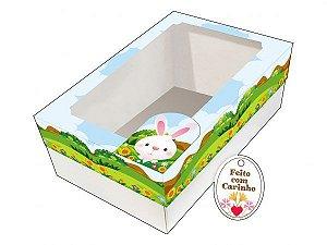 Caixa Ovo de Colher Paisagem Ref. 903 com 2 un. Erika Melkot Rizzo Confeitaria