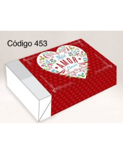 Caixa Divertida Mãe Amor Ref. 453 - 6 doces com 10 un. Erika Melkot Rizzo Confeitaria