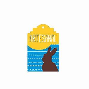 Tag Decorativa Páscoa Artesanal com 12 un. Duster Festas Rizzo Confeitaria