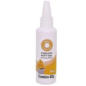 Corante SoftGel Amarelo Gema 60g Mago Rizzo Confeitaria