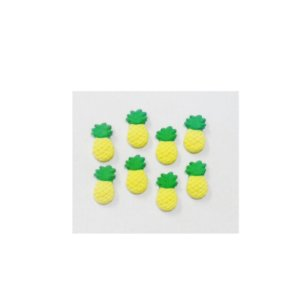 Confeitos comestíveis Abacaxi Ref. 186 Jeni Joni Rizzo Confeitaria