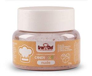 Corante em Pó Lipossolúvel Candy Colors Nude 30g Granchef Rizzo Confeitaria