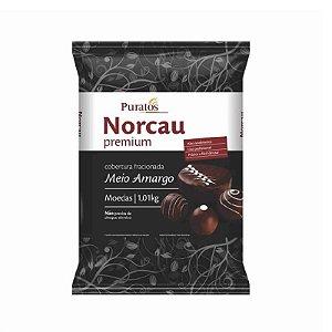 Cobertura Fracionada Sabor Chocolate Meio Amargo 1 kg Puratos Rizzo Confeitaria