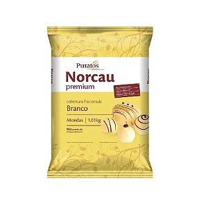 Cobertura Fracionada Sabor Chocolate Branco 1 kg Puratos Rizzo Confeitaria