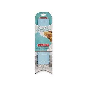 Tapete de Silicone 40 x 50 cm Azul 1un. Hauskraft Rizzo Confeitaria