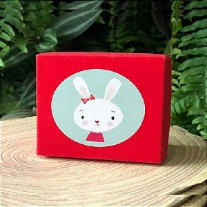 Caixa Retangular Gliter Vermelha com 12un. ArtLille  Rizzo Confeitaria