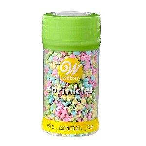 Sprinkles Primavera 60 g Wilton Rizzo Confeitaria