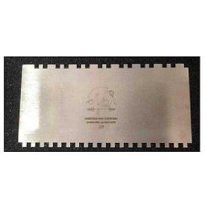 Espátula Decorativa para Bolo em Inox Mod. 28 NP Rizzo Confeitaria