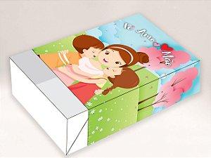 Caixa Divertida Te Amo Mãe Ref. 953 - 6 doces com 10 un. Erika Melkot Rizzo Confeitaria