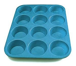 Forma para Cupcakes em Silicone 12 cavidades Confeitudo Rizzo Confeitaria