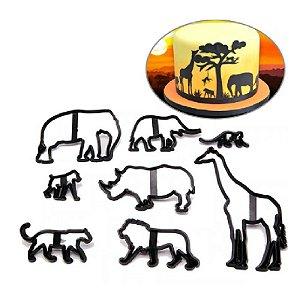 Cortador Safari Confeitudo Rizzo Confeitaria