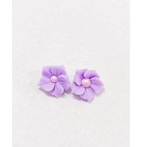 Confeitos Comestíveis Flor Misiotes Lilas - Flores e Encantos de Açúcar Rizzo Confeitaria