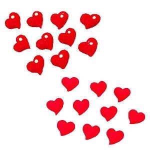 Confeitos Comestíveis Coração M - Flores e Encantos de Açúcar Rizzo Confeitaria
