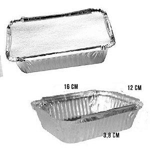 Marmita de Alumínio 500ml com 10 un. Wyda Rizzo Confeitaria