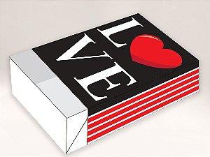 Caixa Divertida Love Ref. 1061 - 6 doces com 10 un. Erika Melkot Rizzo Confeitaria