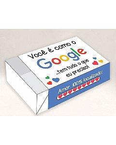 Caixa Divertida Google Ref. 586 - 6 doces com 10 un. Erika Melkot Rizzo Confeitaria