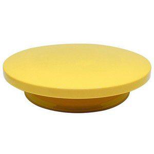 Bailarina - Prato Giratório Amarelo 30 cm Solrac Rizzo Confeitaria