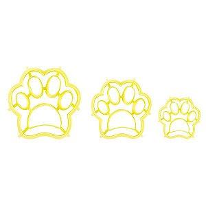 Kit Cortador Patinhas com 6 peças Blue Star Rizzo Confeitaria