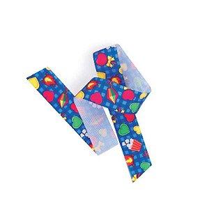 Fita de Cetim Festa Junina EGP009TR 110 Progresso Rizzo Confeitaria