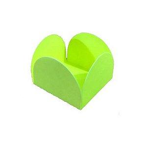 Forminha 4 Pétalas Verde Neon Cod. 10.7 com 50 un. Nc Toys Rizzo Confeitaria
