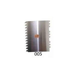 Espátula Decorativa para Bolo em Inox Mod. 005 VM Rizzo Confeitaria