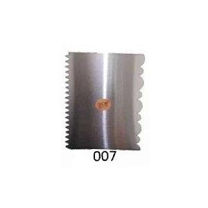 Espátula Decorativa para Bolo em Inox Mod. 007 VM Rizzo Confeitaria