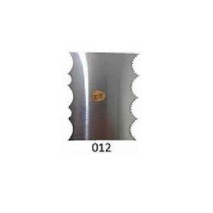 Espátula Decorativa para Bolo em Inox Mod. 012 VM Rizzo Confeitaria