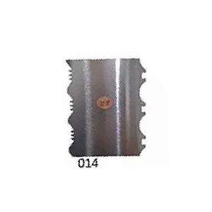 Espátula Decorativa para Bolo em Inox Mod. 014 VM Rizzo Confeitaria