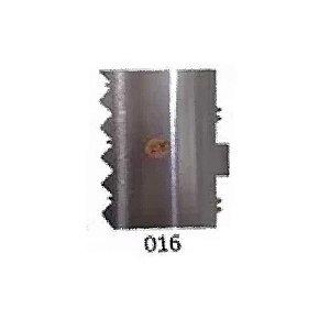 Espátula Decorativa para Bolo em Inox Mod. 016 VM Rizzo Confeitaria