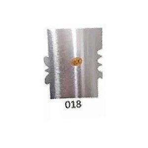 Espátula Decorativa para Bolo em Inox Mod. 018 VM Rizzo Confeitaria