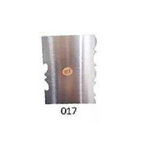 Espátula Decorativa para Bolo em Inox Mod. 017 VM Rizzo Confeitaria