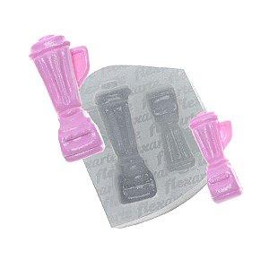 Molde de Silicone Par de Liquidificador Ref. 563 Flexarte Rizzo Confeitaria