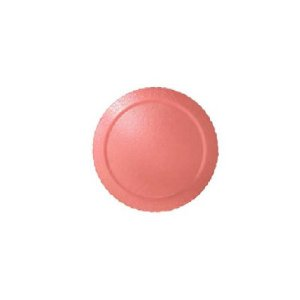 Base para Bolo Cake Board Redondo Coral 28 cm Ultrafest Rizzo Confeitaria