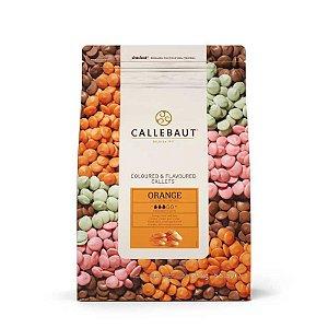Chocolate Callebaut Laranja BR-U75 Gotas 2,5 kg Rizzo Confeitaria