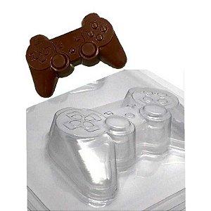 Forma Prática Joystick - Controle Vídeo Game FP124 Crystal Rizzo Confeitaria