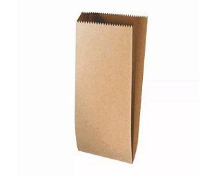 Saquinho de Papel Kraft G - 27 X 10 X 3,5 com 25 un. Rizzo Confeitaria