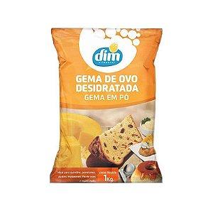 Gema de Ovo Desidratada em Pó 1 Kg Dim Alimentos Rizzo Confeitaria